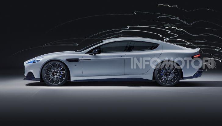 Nuova Aston Martin Rapide E presentata a Shanghai - Foto 3 di 11