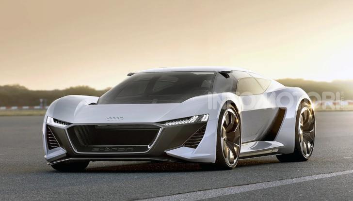 Audi e-tron GT: una nuova supercar a zero emissioni - Foto 2 di 11