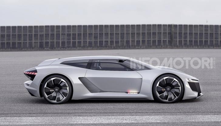 Audi e-tron GT: una nuova supercar a zero emissioni - Foto 3 di 11