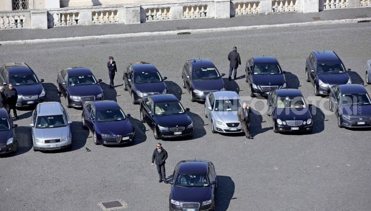 Auto Blu: il Governo acquista 8.280 automobili per 168 milioni di euro - Foto 4 di 5