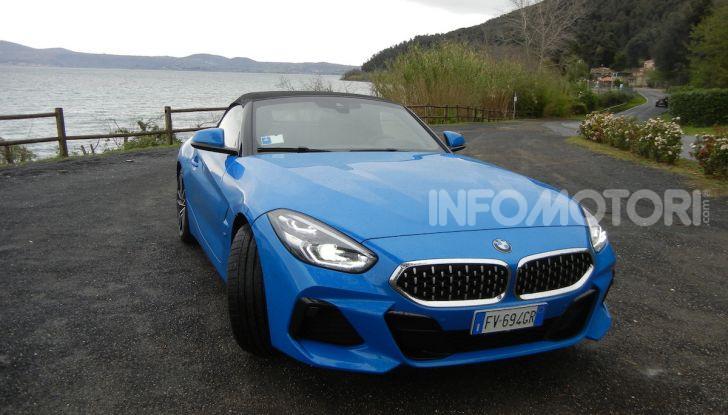 Nuova BMW Z4 2019: Prova in pista a Vallelunga della Roadstar di Monaco - Foto 5 di 36