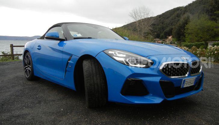 Nuova BMW Z4 2019: Prova in pista a Vallelunga della Roadstar di Monaco - Foto 21 di 36