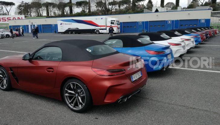 Nuova BMW Z4 2019: Prova in pista a Vallelunga della Roadstar di Monaco - Foto 7 di 36