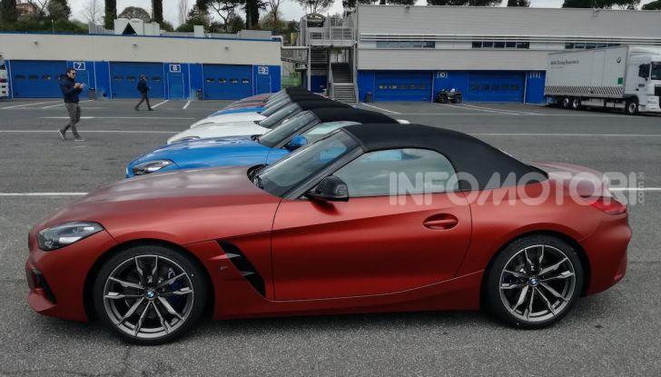 Nuova BMW Z4 2019: Prova in pista a Vallelunga della Roadstar di Monaco - Foto 2 di 36