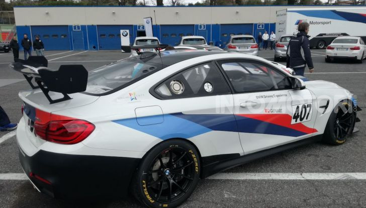 Nuova BMW Z4 2019: Prova in pista a Vallelunga della Roadstar di Monaco - Foto 30 di 36
