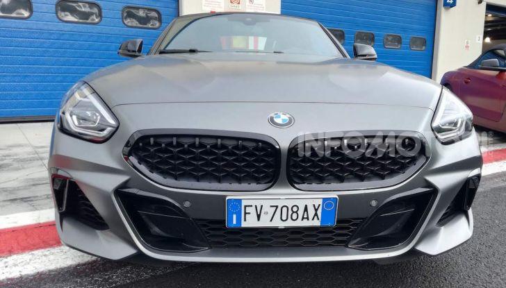 Nuova BMW Z4 2019: Prova in pista a Vallelunga della Roadstar di Monaco - Foto 34 di 36