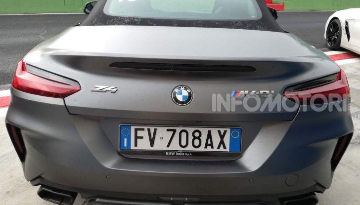 Nuova BMW Z4 2019: Prova in pista a Vallelunga della Roadstar di Monaco - Foto 35 di 36