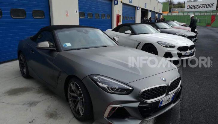 Nuova BMW Z4 2019: Prova in pista a Vallelunga della Roadstar di Monaco - Foto 1 di 36