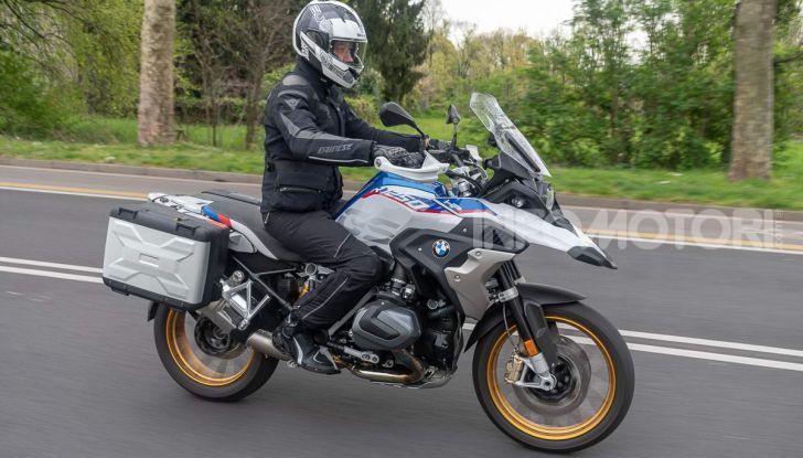 Prova BMW R 1250 GS 2019: la regina è ancora più nuova con lo ShiftCam - Foto 46 di 48