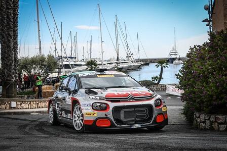 Citroën Quarta al 66° Rallye Sanremo: le classifiche - Foto 4 di 5