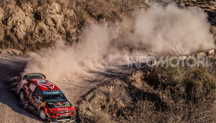 WRC Argentina 2019: il taccuino del Rally di Julien Ingrassia, copilota di Ogier su Citroën C3 WRC - Foto 3 di 3