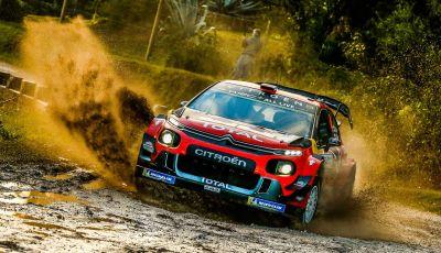 WRC Argentina 2019 - Giorno 1: la Citroën C3 WRC di Ogier-Ingrassia al secondo posto