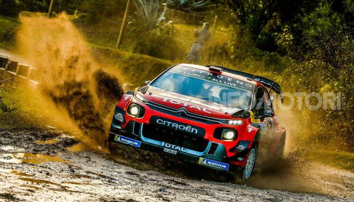 WRC Argentina 2019 – Giorno 1: la Citroën C3 WRC di Ogier-Ingrassia al secondo posto - Foto 1 di 4