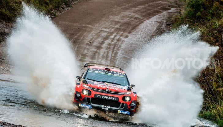 WRC Argentina 2019 – Giorno 1: la Citroën C3 WRC di Ogier-Ingrassia al secondo posto - Foto 2 di 4