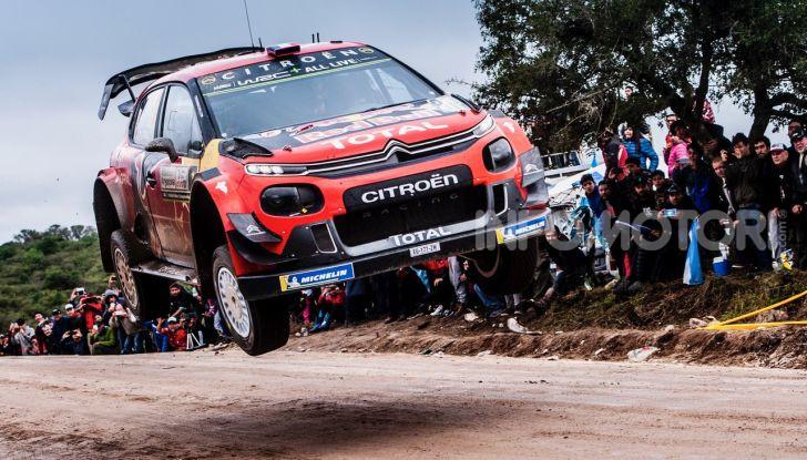 WRC Argentina 2019 – Giorno 1: la Citroën C3 WRC di Ogier-Ingrassia al secondo posto - Foto 3 di 4