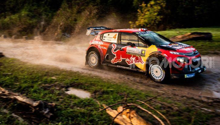 WRC Argentina 2019 – Giorno 1: la Citroën C3 WRC di Ogier-Ingrassia al secondo posto - Foto 4 di 4