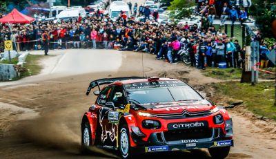 WRC Argentina 2019 – Giorno 2: la C3 WRC di Ogier -Ingrassia punta al podio