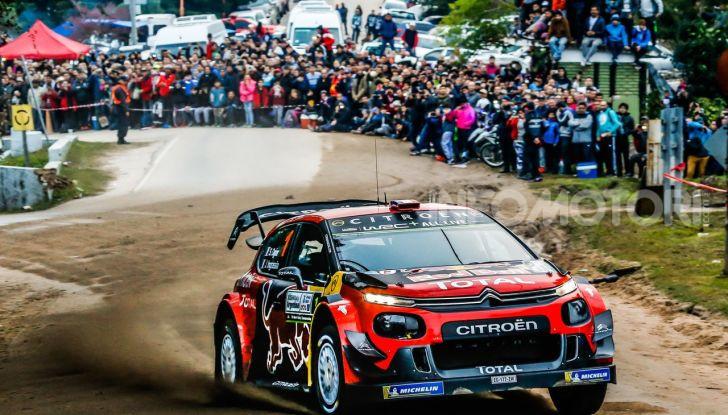 WRC Argentina 2019 – Giorno 2: la C3 WRC di Ogier -Ingrassia punta al podio - Foto 1 di 4