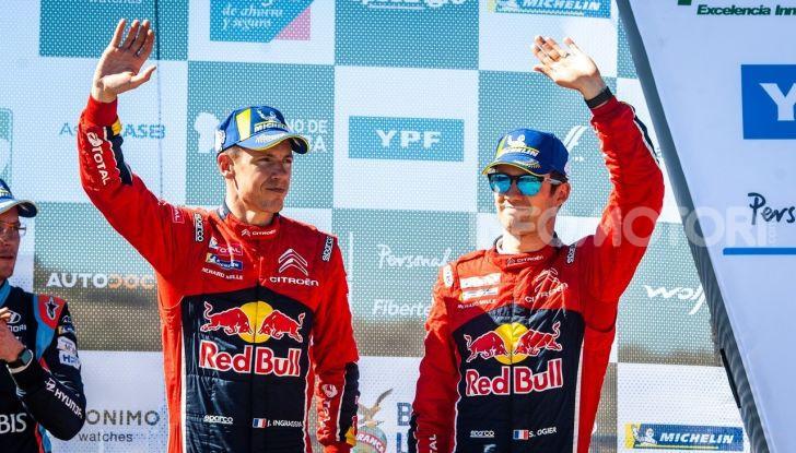 WRC Argentina 2019 Giorno 3: Citroën al terzo posto con la C3 WRC di Ogier-Ingrassia - Foto 1 di 2