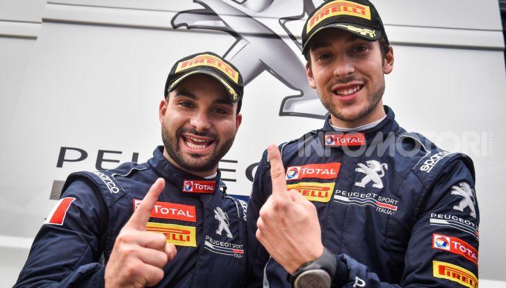 Ciuffi (Peugeot 208 R2B ufficiale) molto contento della vittoria a Sanremo - Foto 1 di 2