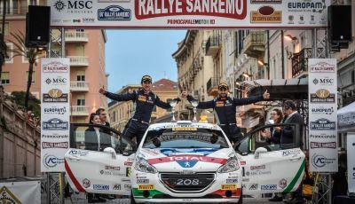 La Peugeot 208 R2B di Ciuffi / Gonella  vince anche il 66° Rallye Sanremo