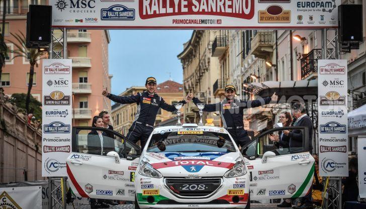 La Peugeot 208 R2B di Ciuffi / Gonella  vince anche il 66° Rallye Sanremo - Foto 1 di 7