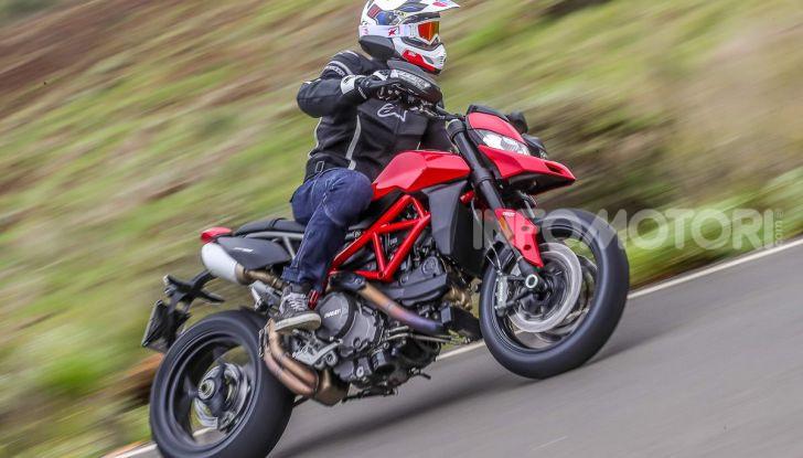 Prova su strada Ducati Hypermotard 950 e 950SP 2019: caratteristiche, opinioni e prezzi - Foto 7 di 54