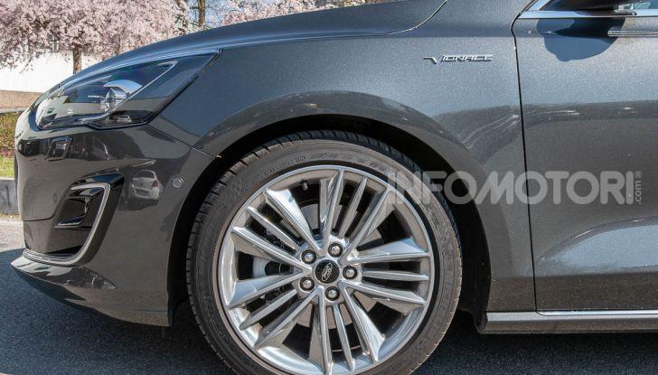 Prova Ford Focus SW Vignale 1.0 EcoBoost 125 cv: esperienza Ford all'ennesima potenza - Foto 7 di 41