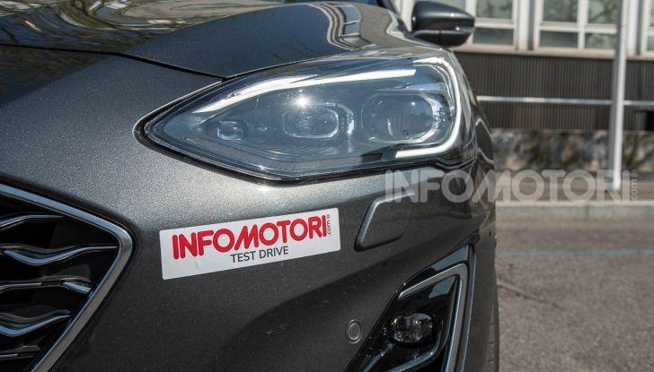 Prova Ford Focus SW Vignale 1.0 EcoBoost 125 cv: esperienza Ford all'ennesima potenza - Foto 10 di 41