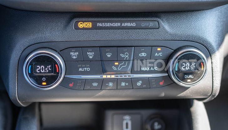 Prova Ford Focus SW Vignale 1.0 EcoBoost 125 cv: esperienza Ford all'ennesima potenza - Foto 21 di 41