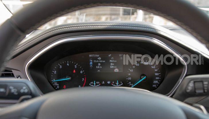 Prova Ford Focus SW Vignale 1.0 EcoBoost 125 cv: esperienza Ford all'ennesima potenza - Foto 24 di 41