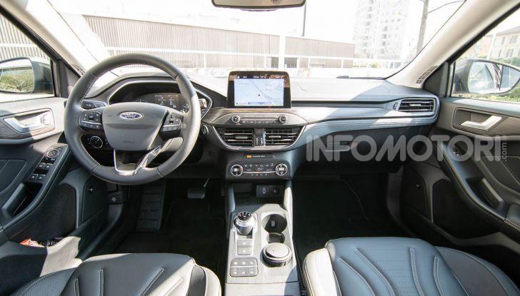 Prova Ford Focus SW Vignale 1.0 EcoBoost 125 cv: esperienza Ford all'ennesima potenza - Foto 28 di 41