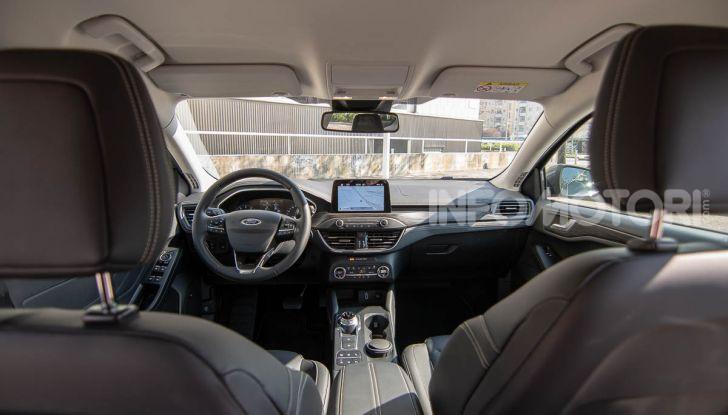 Prova Ford Focus SW Vignale 1.0 EcoBoost 125 cv: esperienza Ford all'ennesima potenza - Foto 29 di 41