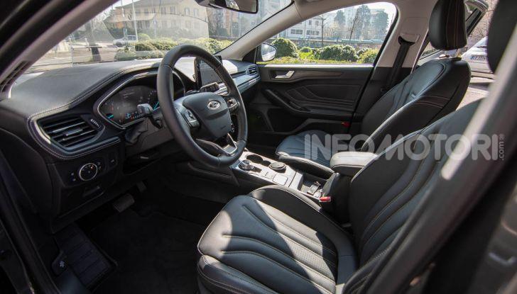 Prova Ford Focus SW Vignale 1.0 EcoBoost 125 cv: esperienza Ford all'ennesima potenza - Foto 30 di 41