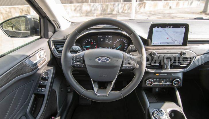 Prova Ford Focus SW Vignale 1.0 EcoBoost 125 cv: esperienza Ford all'ennesima potenza - Foto 34 di 41