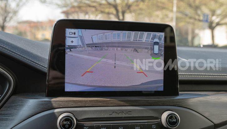 Prova Ford Focus SW Vignale 1.0 EcoBoost 125 cv: esperienza Ford all'ennesima potenza - Foto 36 di 41
