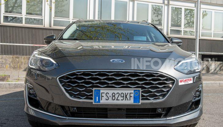Prova Ford Focus SW Vignale 1.0 EcoBoost 125 cv: esperienza Ford all'ennesima potenza - Foto 39 di 41