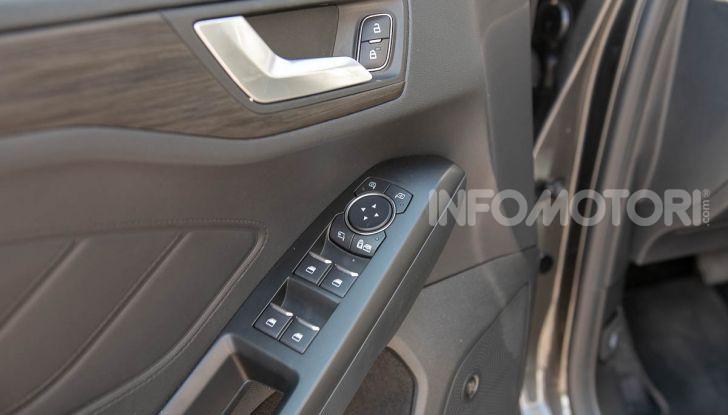 Prova Ford Focus SW Vignale 1.0 EcoBoost 125 cv: esperienza Ford all'ennesima potenza - Foto 41 di 41