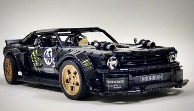 Ford Mustang Hoonicorn V2 versione LEGO Technic