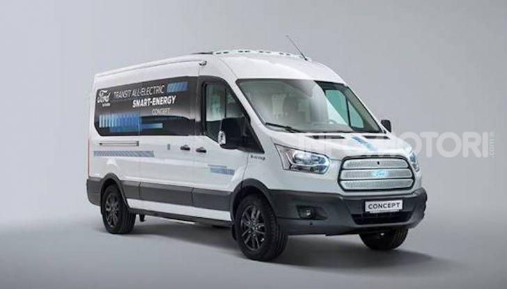 Ford Transit Smart Energy Concept: 10 posti ma zero emissioni - Foto 1 di 4