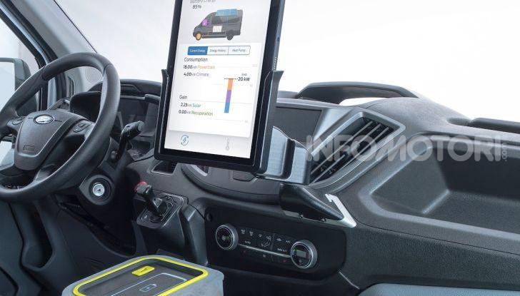 Ford Transit Smart Energy Concept: 10 posti ma zero emissioni - Foto 2 di 4