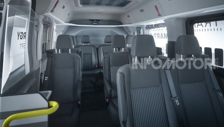 Ford Transit Smart Energy Concept: 10 posti ma zero emissioni - Foto 4 di 4