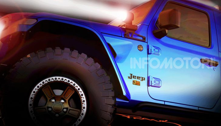 Jeep e Mopar presentano sei nuovi concept alla 50° Easter Jeep Safari - Foto 1 di 19