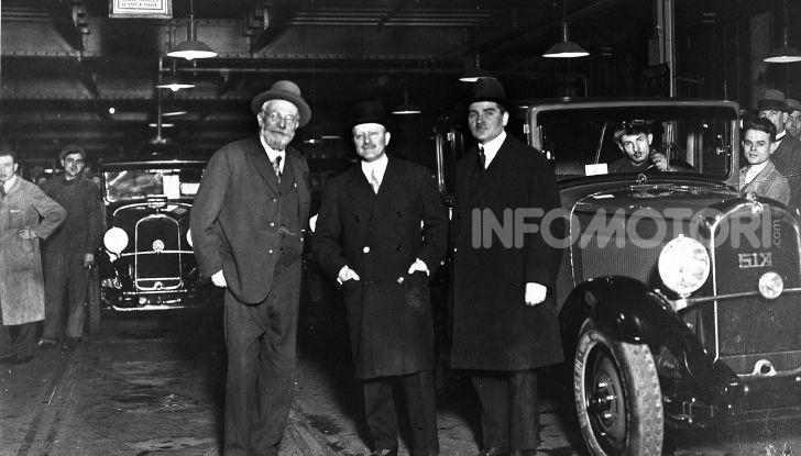 André Citroën e l'amicizia con i fratelli Édouard e André Michelin - Foto 1 di 4