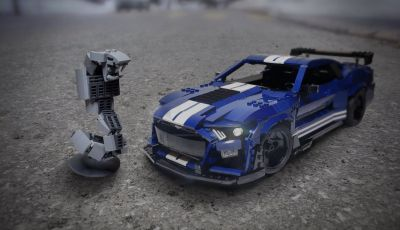 Ford Mustang Shelby GT500 2020, la muscle car versione LEGO