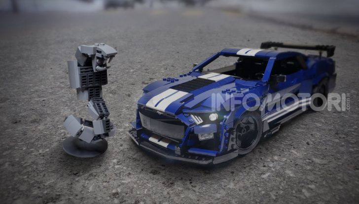 Ford Mustang Shelby GT500 2020, la muscle car versione LEGO - Foto 1 di 6