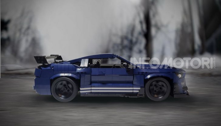 Ford Mustang Shelby GT500 2020, la muscle car versione LEGO - Foto 2 di 6