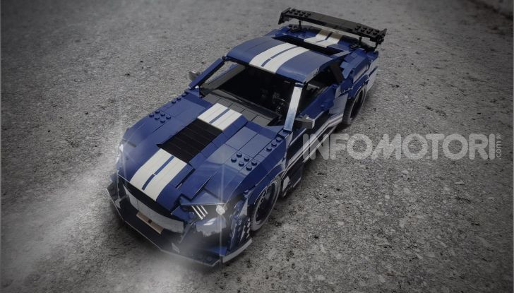 Ford Mustang Shelby GT500 2020, la muscle car versione LEGO - Foto 4 di 6