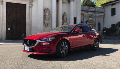 Prova nuova Mazda6: prestigio, comfort e prestazioni dell'ammiraglia con AWD