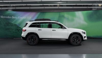 Mercedes Concept GLB: debutta il nuovo SUV compatto tedesco